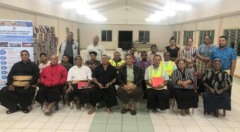 First draft Ocean Plan community meet in Tongatapu done