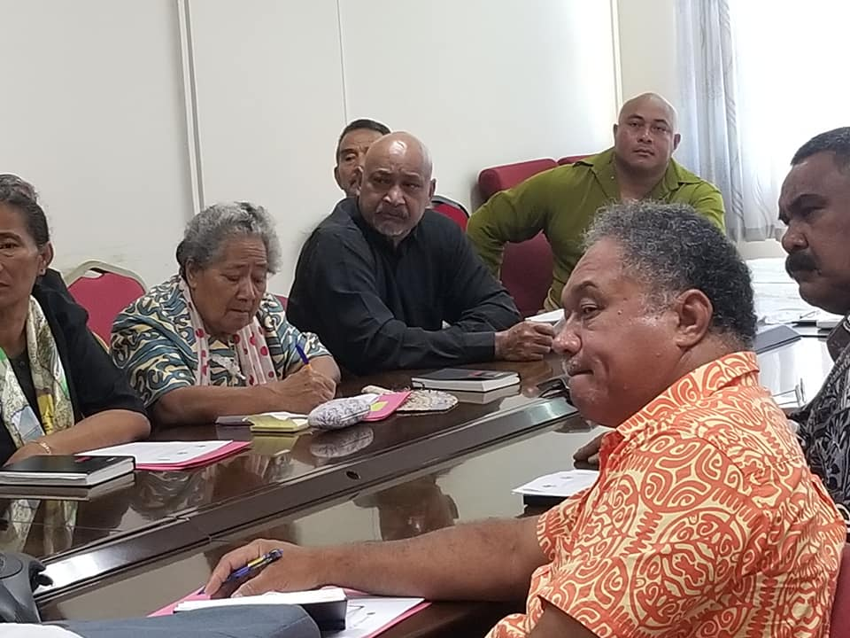 Town officers discuss Fanga'uta issues