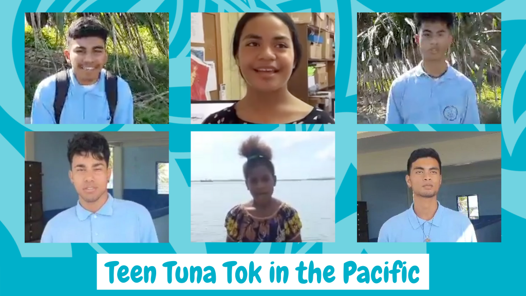 Pacific Youth lead the conversation on World Tuna Day
